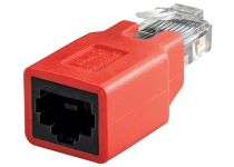 RJ45 Cross-over adapter