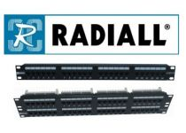 Radiall Patchpanelen Cat6